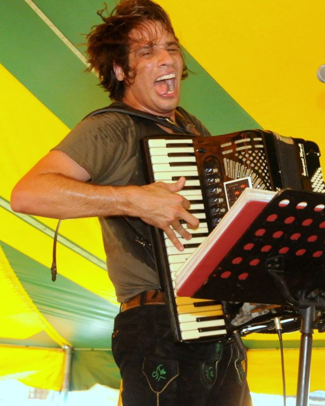 Bavarian Blast accordion